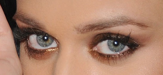 Look-I-39-m-Loving-This-Morning-Katy-Perry-39-s-Brown-and-Copper-Eye-Shadow-1