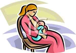New_Mother_Breastfeeding_Her_Baby_Boy_Royalty_Free_Clipart_Picture_100205-061604-613042