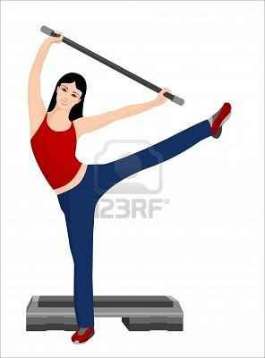 7021954-illustration-of-the-girl-doing-sport-exercises