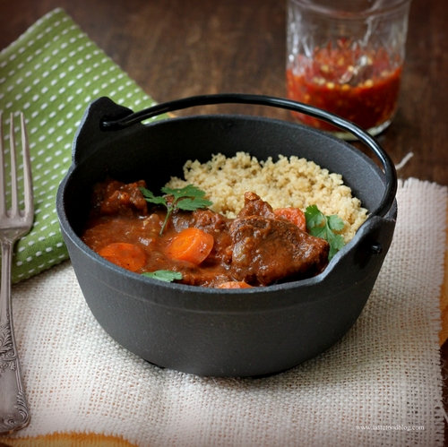 Vegetable-Tagine-with-meat-chopped