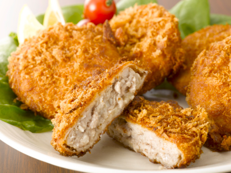 Chicken-croquet