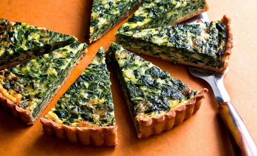 Spinach-and-onion-tart