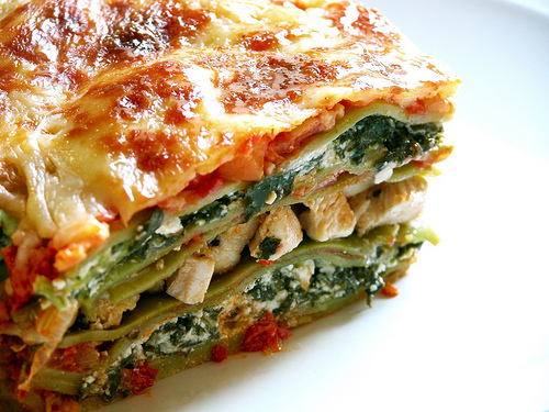 Lasagna-with-spinach