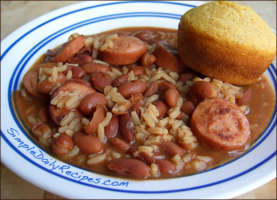 Soup-beans-and-sausage