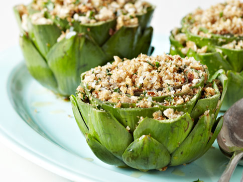 Artichokes-stuffed-with-minced-meat