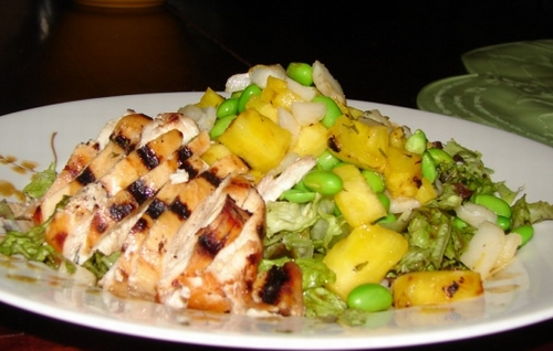 Chicken-salad-with-pineapple