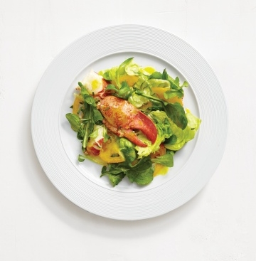 Lobster-Salad-almond-sauce