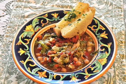 Cabbage-soup-and-beans
