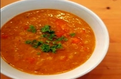 Red lentils on the Moroccan way