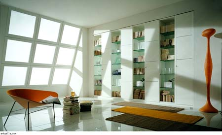 Keep your books on libraries elegant home (14)