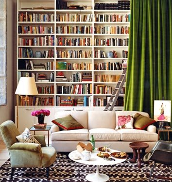 Keep your books on libraries elegant home (3)