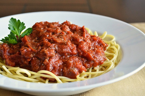 Pasta with meat sauce Almfire
