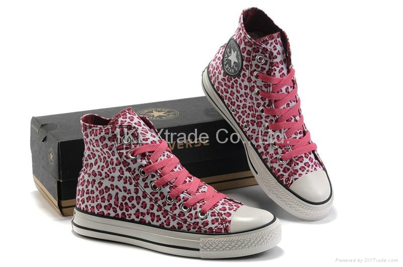 2012_Converse_Pink_Lepoard_High-top_Sneakers_Limited_Edition_Women_Shoes_35-39