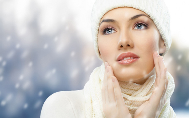 Redness of the skin in the winter