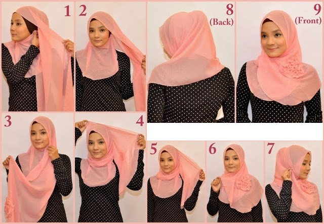 Ways to wear hijab   (1)