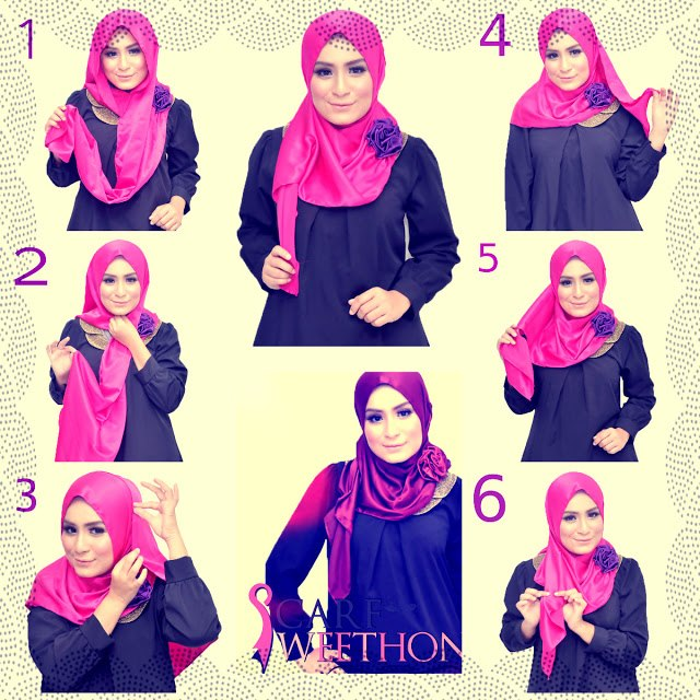 Ways to wear hijab   (13)