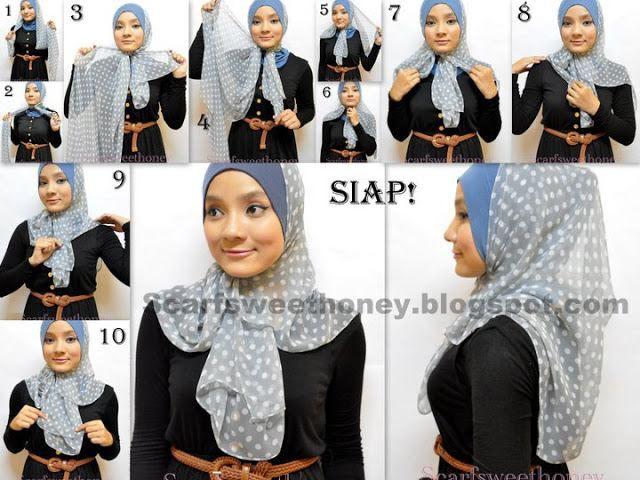Ways to wear hijab   (17)