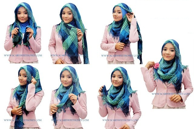 Ways to wear hijab   (2)