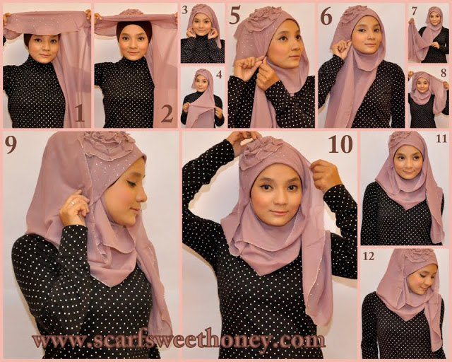 Ways to wear hijab   (20)