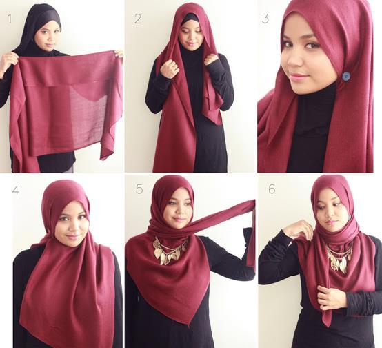 Ways to wear hijab   (25)