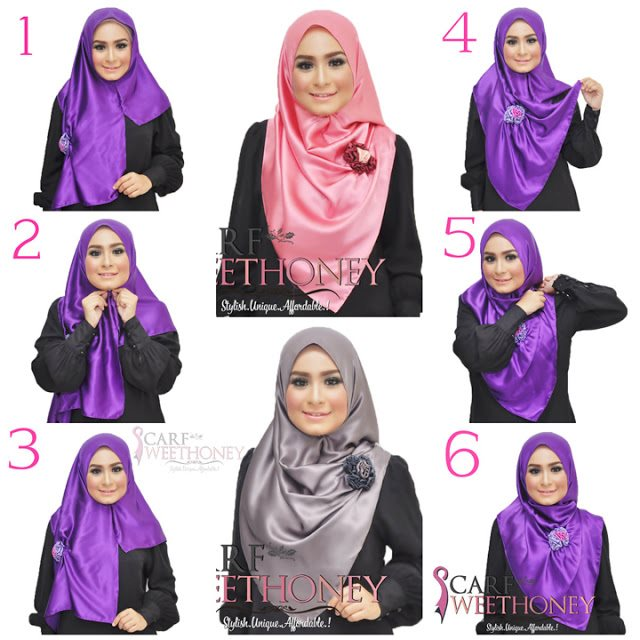 Ways to wear hijab   (4)