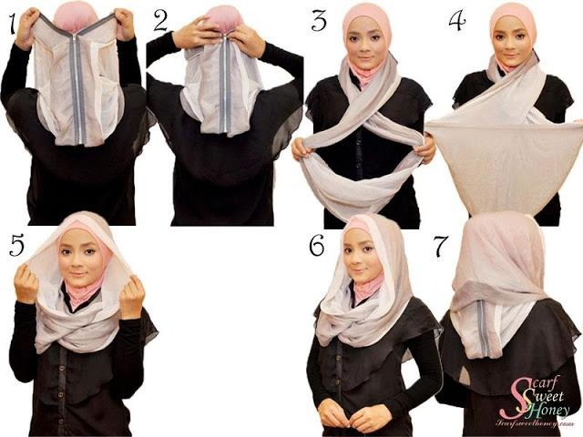 Ways to wear hijab   (7)