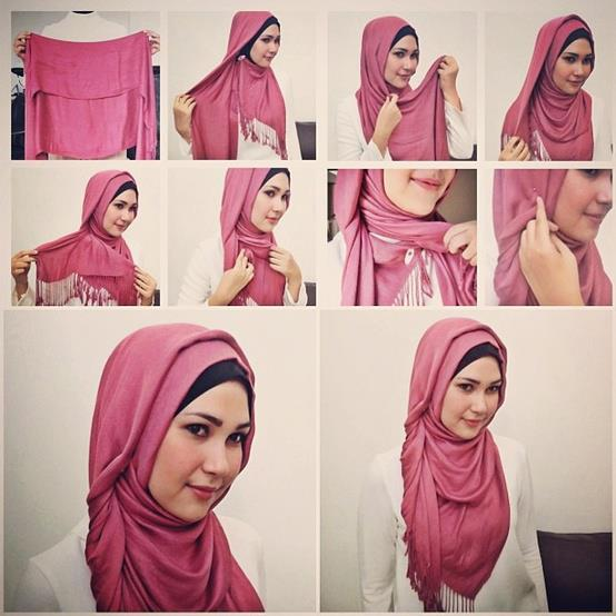 Ways to wear hijab   (9)