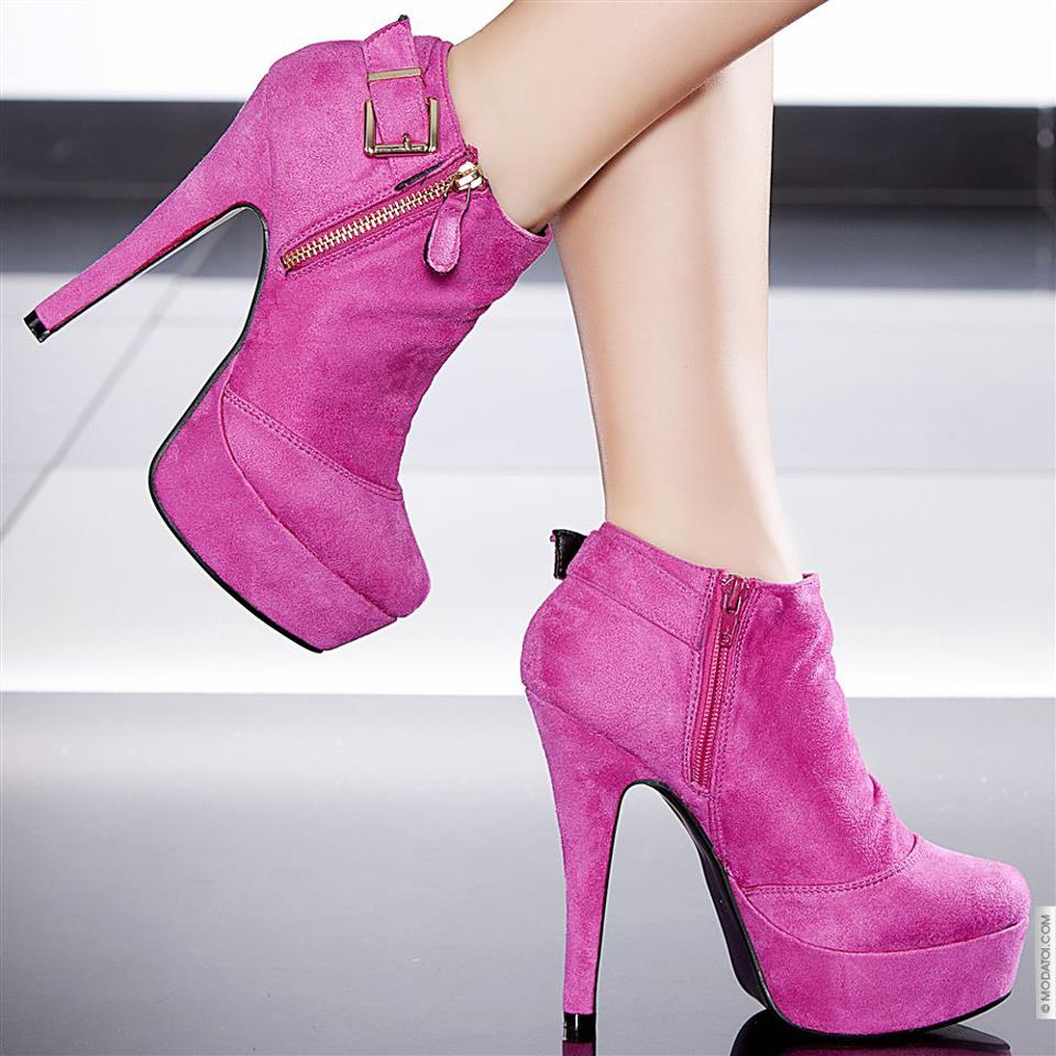 Winter Boots High-heeled (12)