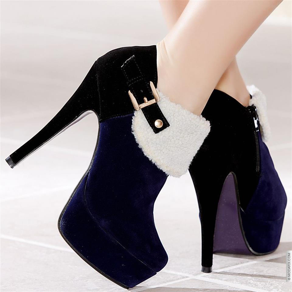 Winter Boots High-heeled (15)