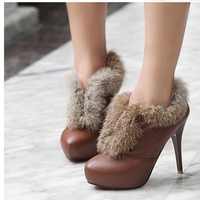 Winter Boots High-heeled (7)