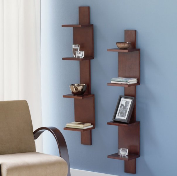 decorate the wall shelves (2)