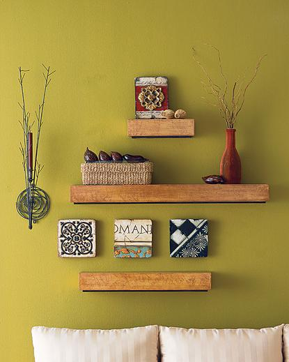 decorate the wall shelves (3)