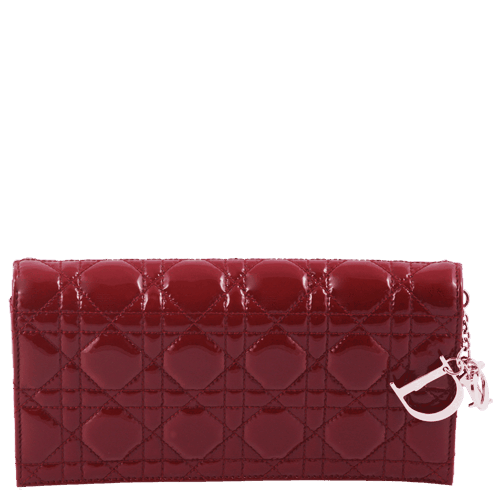 pochette-dior-lady-rouge-vernis