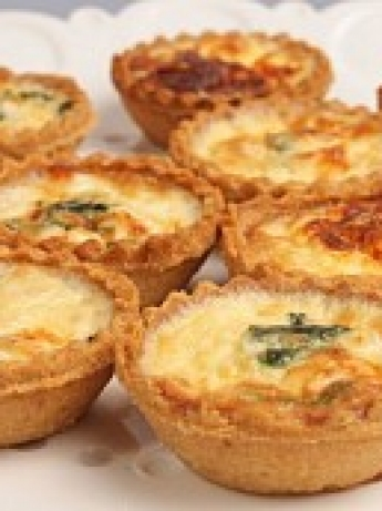 Spinach and cheese tart Viet