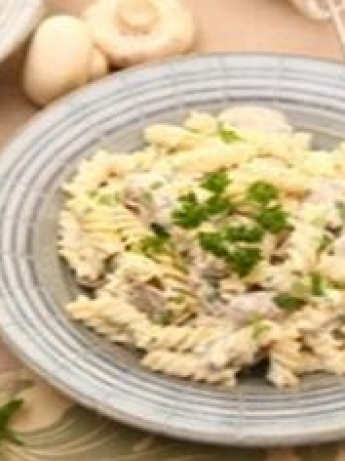 pasta mushroom and sour cream