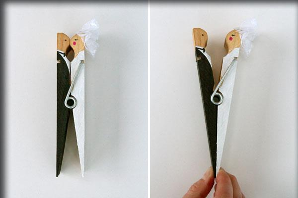 Decorative clothespins (17)