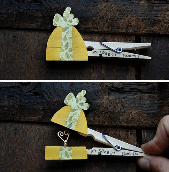 Decorative clothespins (20)