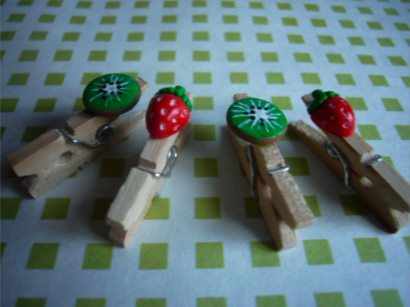 Decorative clothespins (21)