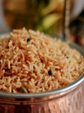 Seven rice eastern spices