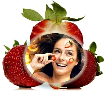 Wonderful strawberry recipes to take care of your skin