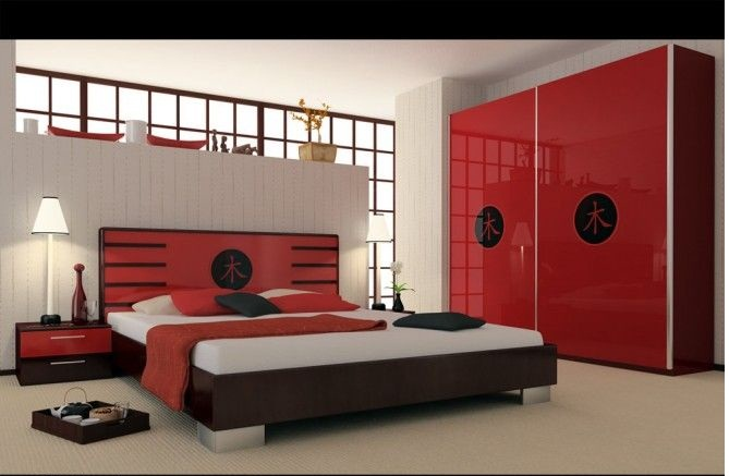 Your bedroom more romantic red (3)