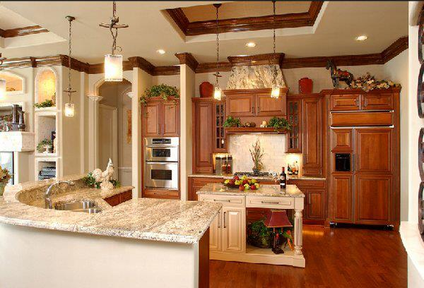 Your kitchen decorated in classic (1)