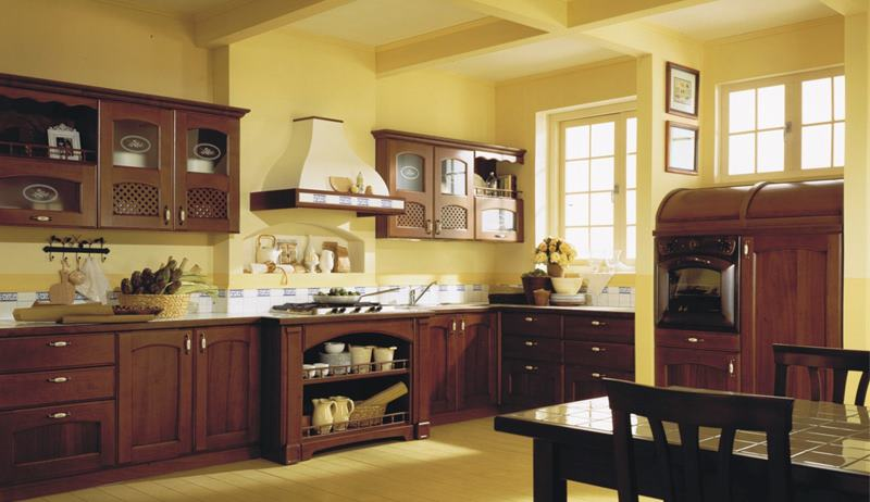 Your kitchen decorated in classic (10)