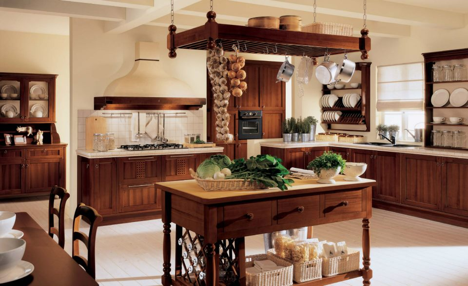 Your kitchen decorated in classic (12)
