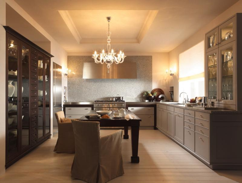 Your kitchen decorated in classic (13)