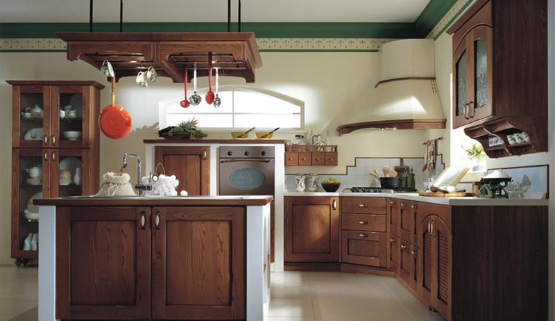 Your kitchen decorated in classic (15)