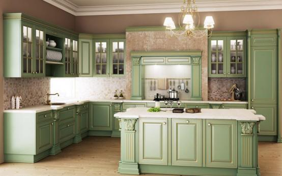 Your kitchen decorated in classic (3)