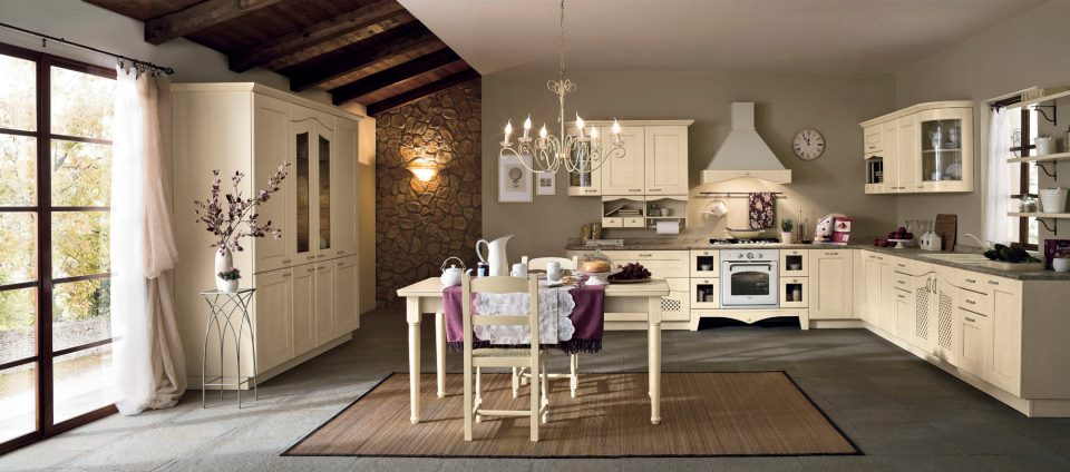 Your kitchen decorated in classic (4)