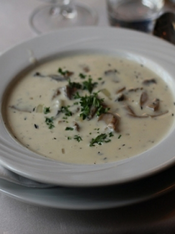 Turkish Soup with Mushrooms