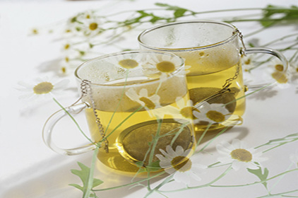 Chamomile and sage for slimming thighs